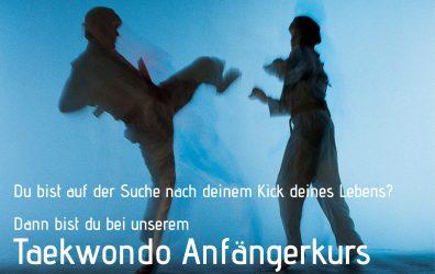 Taekwondo Anfängerkurs – ab 26. September 2017