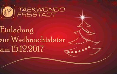 Weihnachtsfeier am 15.12.2017