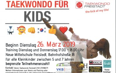 Taekwondo für Kids