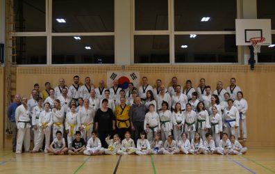 40 Jahre Taekwondo – Jubiläumstraining