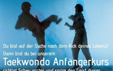 Taekwondo Anfängerkurs 1.10.2019